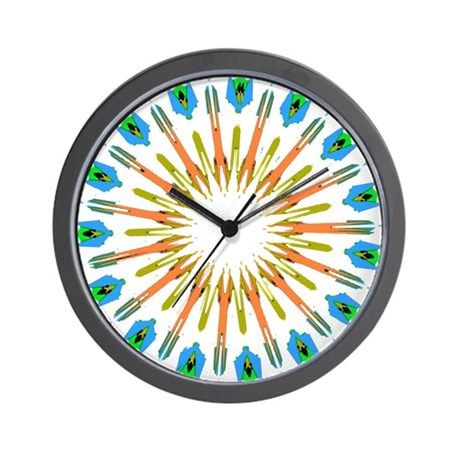 Kaleidoscope 003a1 Wall Clock