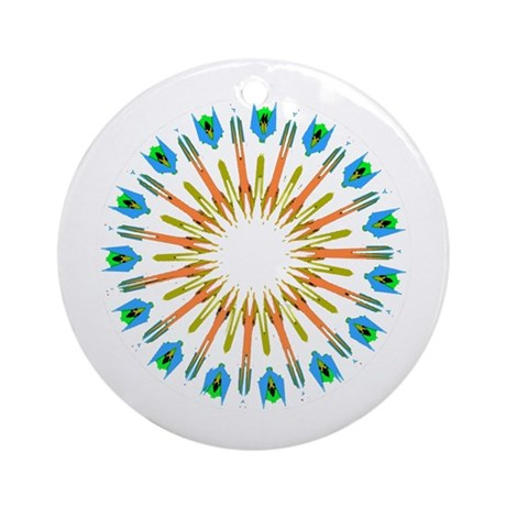 Kaleidoscope 003a1 Ornament (Round)