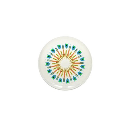Kaleidoscope 003a1 Mini Button (10 pack)