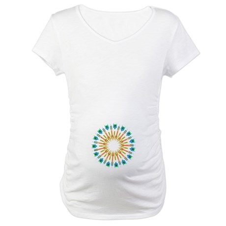 Kaleidoscope 003a1 Maternity T-Shirt