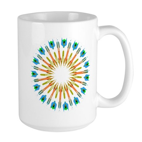 Kaleidoscope 003a1 Large Mug