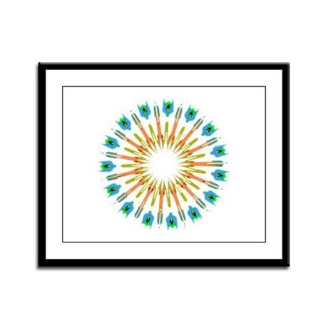 Kaleidoscope 003a1 Framed Panel Print