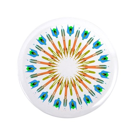 "Kaleidoscope 003a1 3.5"" Button (100 pack)"