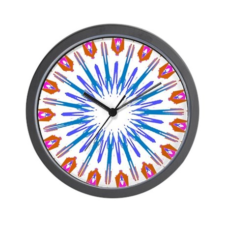 Kaleidoscope 003a Wall Clock