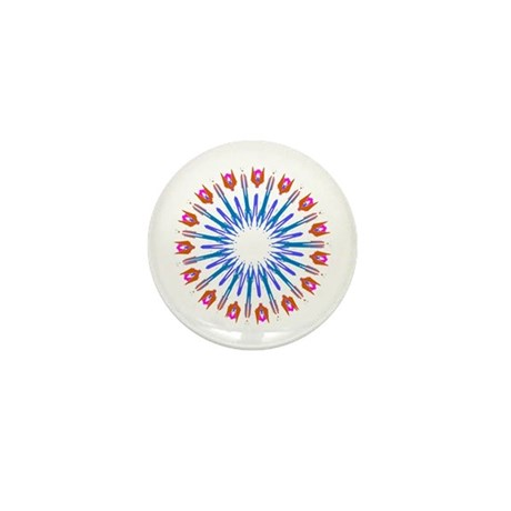 Kaleidoscope 003a Mini Button (10 pack)
