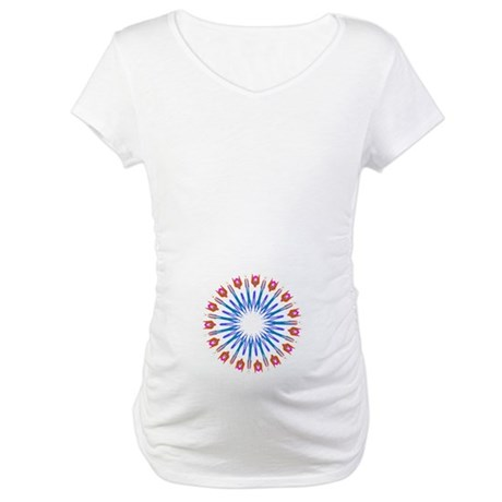 Kaleidoscope 003a Maternity T-Shirt