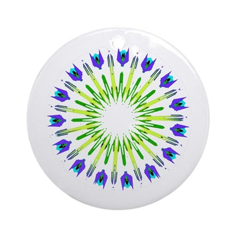 Kaleidoscope 003b Ornament (Round)