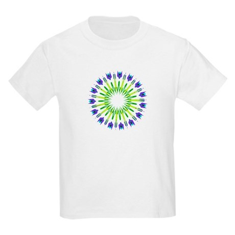 Kaleidoscope 003b Kids Light T-Shirt