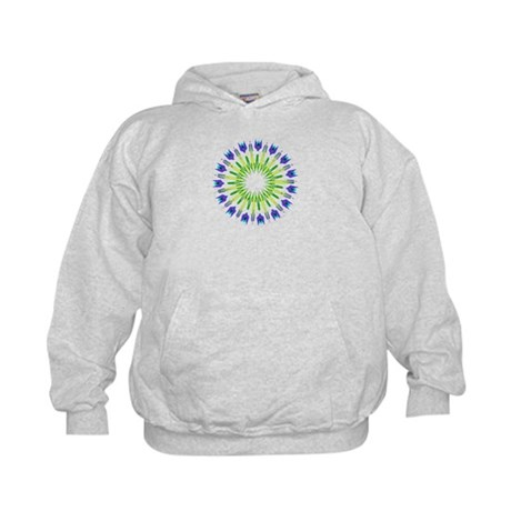Kaleidoscope 003b Kids Hoodie