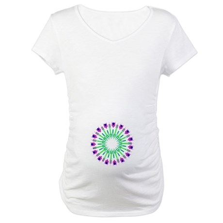 Kaleidoscope 003c Maternity T-Shirt