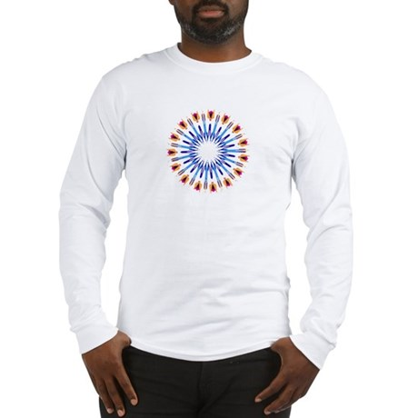 Kaleidoscope 003d Long Sleeve T-Shirt