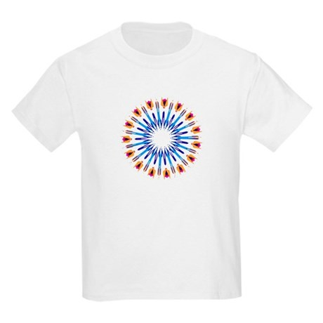 Kaleidoscope 003d Kids Light T-Shirt