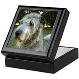Irish Wolfhound Alert Keepsake Box
