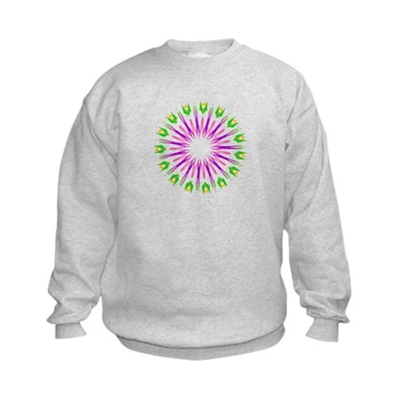 Kaleidoscope 003e Kids Sweatshirt