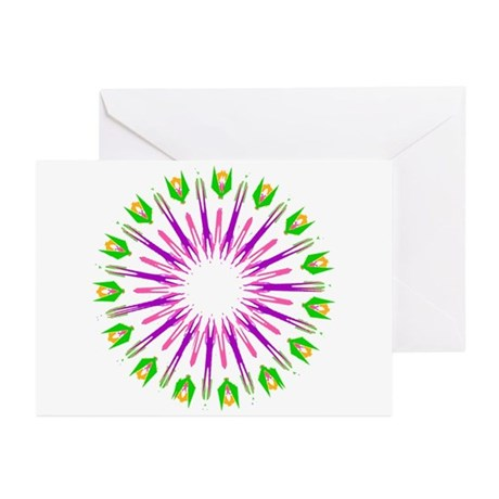 Kaleidoscope 003e Greeting Cards (Pk of 10)