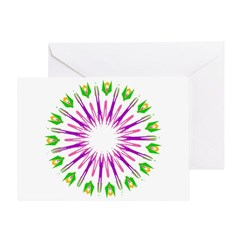 Kaleidoscope 003e Greeting Card