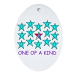 ONE OF A KIND Oval Ornament