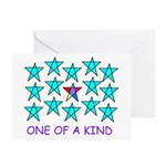 ONE OF A KIND Greeting Cards (Pk of 20)