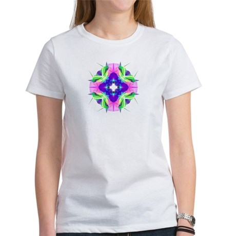 Kaleidoscope 001b Women's T-Shirt