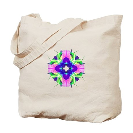Kaleidoscope 001b Tote Bag