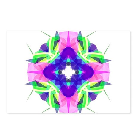 Kaleidoscope 001b Postcards (Package of 8)