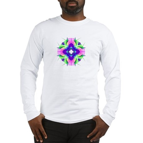 Kaleidoscope 001b Long Sleeve T-Shirt