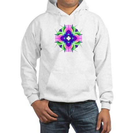 Kaleidoscope 001b Hooded Sweatshirt