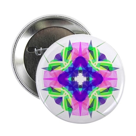 "Kaleidoscope 001b 2.25"" Button (100 pack)"