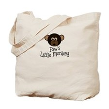 Paw's Little Monkey BOY Tote Bag