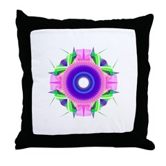 Kaleidoscope 001c Throw Pillow
