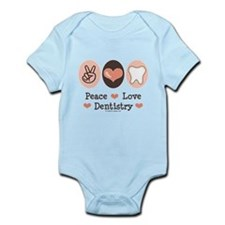 Peace Love Dentistry Dentist Infant Bodysuit