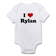 I Love Rylan Infant Bodysuit