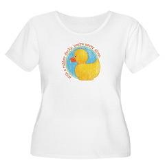 Rubber Ducky Women's Plus Size Scoop Neck T-Shirt