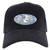 Funny Angel and maltese Baseball Hat