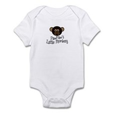 PawPaw's Little Monkey BOY Infant Bodysuit