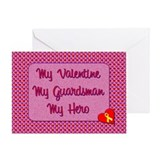 My Valentine, My Guardsman Greeting Card
