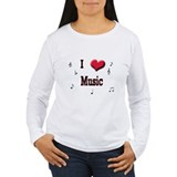 I Love (Heart) Music T-Shirt