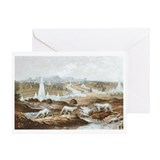 Crystal Palace Dinosaurs Greeting Card