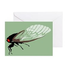 Cicada Greeting Cards (Pk of 20)