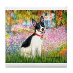 Garden / Rat Terrier Tile Coaster