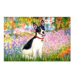 Garden / Rat Terrier Postcards (Package of 8)