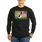 Garden / Rat Terrier Long Sleeve Dark T-Shirt