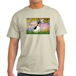 Garden / Rat Terrier Light T-Shirt