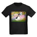 Garden / Rat Terrier Kids Dark T-Shirt