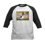 Garden / Rat Terrier Kids Baseball Jersey