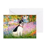 Garden / Rat Terrier Greeting Cards (Pk of 10)