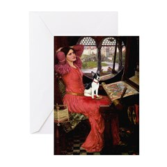 Lady of Shalotte/Rat Ter Greeting Cards (Pk of 20)