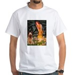 Fairies / Briard White T-Shirt