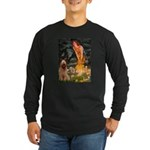 Fairies / Briard Long Sleeve Dark T-Shirt