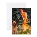 Fairies / Briard Greeting Cards (Pk of 10)